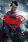 Batman vs Superman Poster Superman rotes Logo
