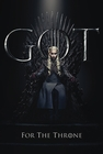 Game of Thrones Poster Daenerys For The Throne