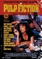 Pulp Fiction Riesenposter Hauptplakat Uma Thurman