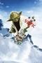 Star Wars Poster Yoda Snowboarding