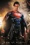 Superman Man of Steel Poster Explosion