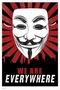 V For Vendetta Poster Maske We Are Everywhere