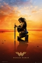 Wonder Woman Poster Sunset