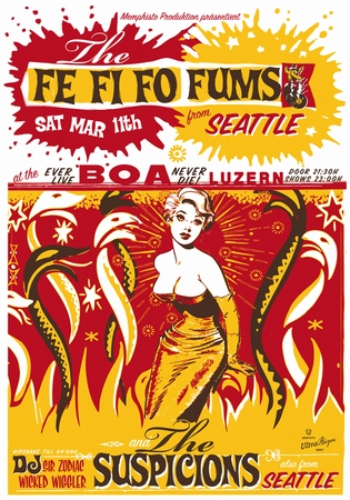 Plakat Fe Fi Fo Fums