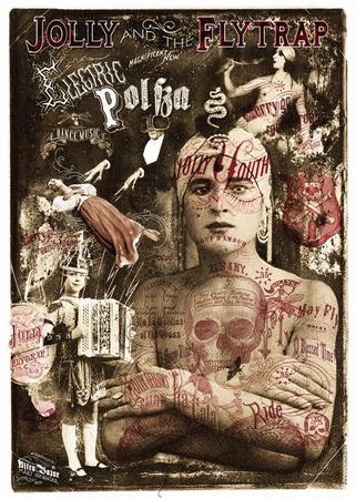 Plakat Jolly & the Flytrap - Electric Polka Fakir Tour