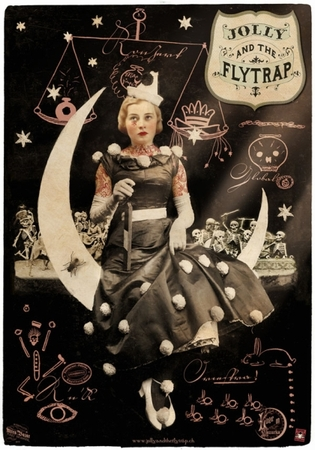 Plakat Jolly & the Flytrap - Tourplakat 2013 - Moongirl
