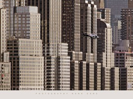 Hank Gans - New York Helicopter Poster