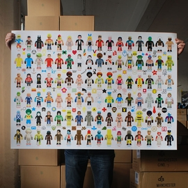 Peecol Toy Poster by eBoy