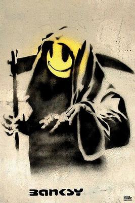 Banksy Poster Reaper