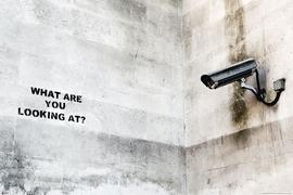 Banksy Poster Streetart Camera Graffity
