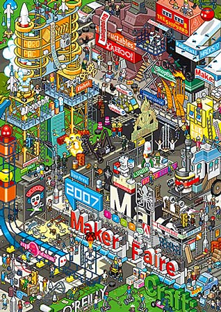 Maker Faire by eBoy