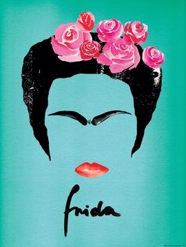 Frida Kahlo Kunstdruck Janette