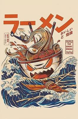 Ilustrata Poster Great Ramen