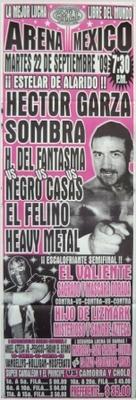 G.T.W.A - Lucha Libre Poster - Hector Garza-22 Sep 09