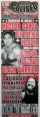 G.T.W.A - Lucha Libre Poster - Hector Garza-27 Sep 09