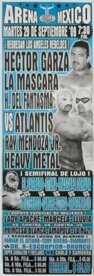 G.T.W.A - Lucha Libre Poster - Hector Garza-29 Sep 09