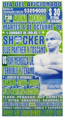 G.T.W.A - Lucha Libre Poster - Shocker-6 Okt 09