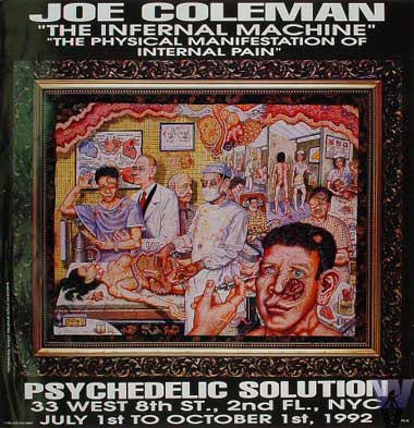 The Psychedelic Solution - Joe Coleman