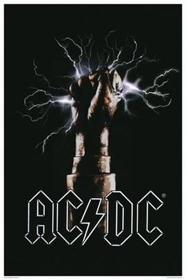 AC/DC Fist Poster