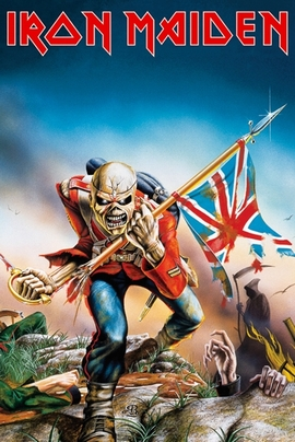 Iron Maiden Poster Trooper