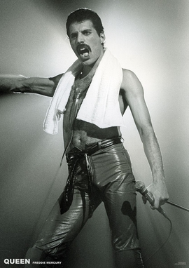Queen Poster Freddie Mercury