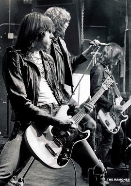 Ramones Poster Live at CBGB's 1977