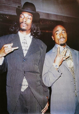 Snoop Dogg and Tupac Poster