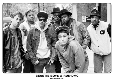 Beastie Boys & Run-DMC Poster Amsterdam 1987