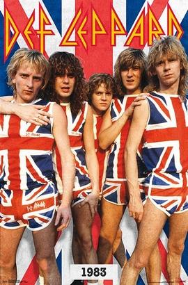 Def Leppard Poster Union Jack