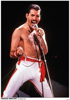 Freddie Mercury - Queen Poster