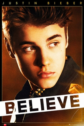 Justin Bieber Poster Believe
