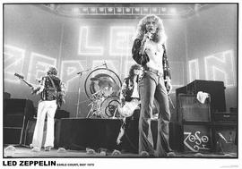 Led Zeppelin Poster Earls Court, Mai 1975