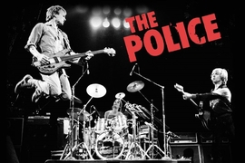 The Police Poster Live
