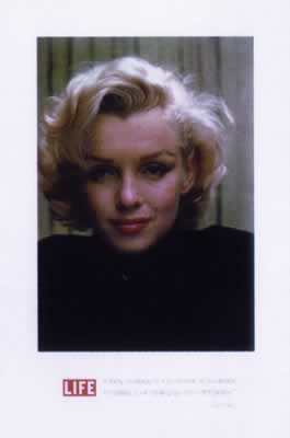 marilyn monroe starposter pr sentiert von klang und kleid plakat poster. Black Bedroom Furniture Sets. Home Design Ideas