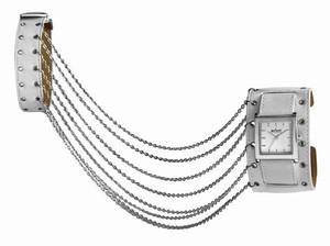 Broadband Chain - white - Axcent Uhr