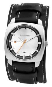 Rebel Leather Silver - Lambretta Uhr