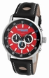 Imola Leather Red - Lambretta Uhr