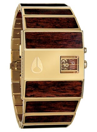 The rotolog all gold brown nixon uhr nixon watches for Hammer tapeten katalog