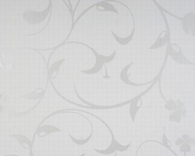 Tapete - Contzen - Lilium Metallic Weiss