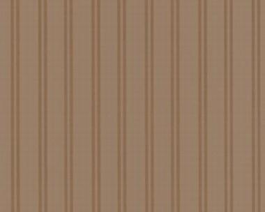 Tapete - Flock II - Hellbraun - Streifen schmal