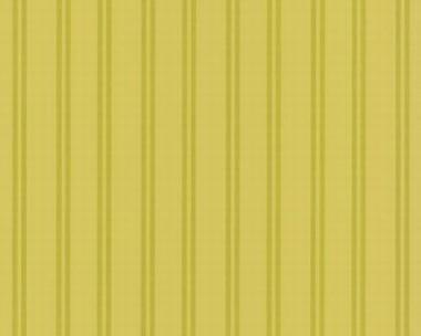 Tapete - Flock II - Grün - Streifen schmal