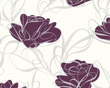 Tapete - Key to Fairyland - Magic Lily Violett