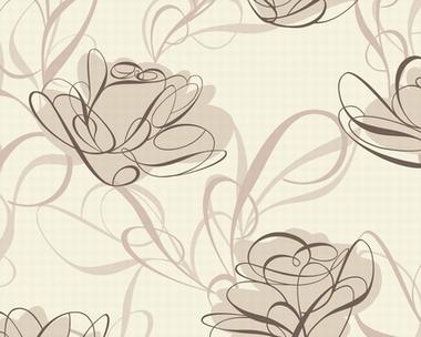 klang und kleid interior schlafzimmer tapete key to fairyland magic lily braun. Black Bedroom Furniture Sets. Home Design Ideas