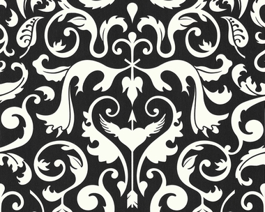 tapete contzen ii ba rock schwarz weiss filmplakate. Black Bedroom Furniture Sets. Home Design Ideas