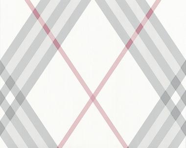 Tapete - Contzen II - Royal Squares Grau