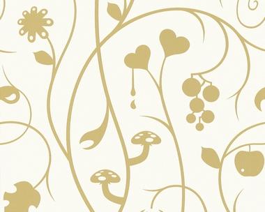 Tapete - Contzen II - Fobidden Fruits Gold