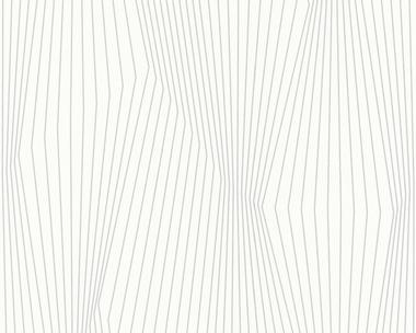 Tapete - Contzen II - Linear Landscape Weiss