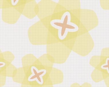 Tapete - Contzen Papers - Transparent Flowers - Grün