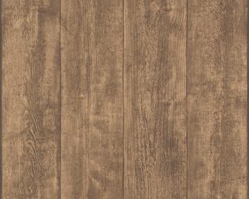 Tapete - Murano - Holz Braun