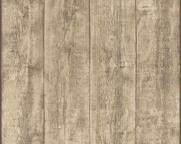 Tapete - Murano - Holz Hellbraun